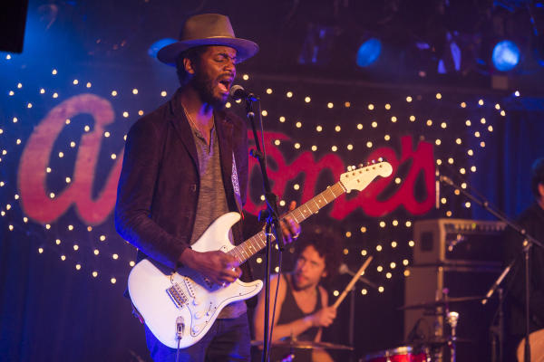 Gary Clark Jr Performing at Antones