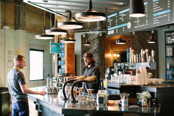 Cuvee Coffee Bar Interior