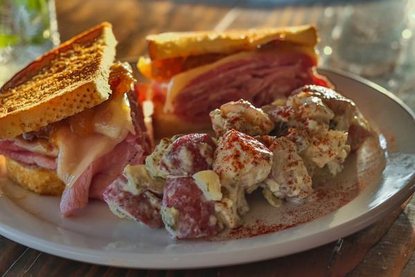 Amelia Farm & Market sandwich