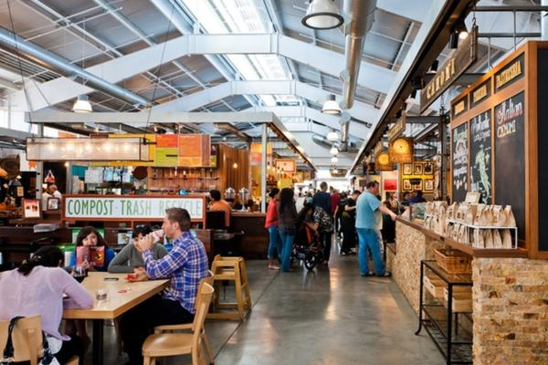 Oxbow Public Market in Napa Valley