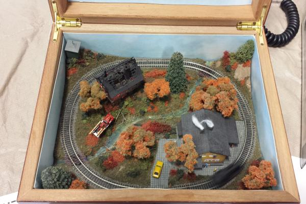 Tiny Layout at the Martinsville Train Show