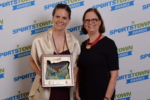 2017 SportsTown Awards Sustainable Sports Event of the Year by Colin Morton