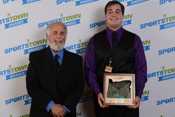 2017 SportsTown Awards Athlete with Heart by Colin Morton