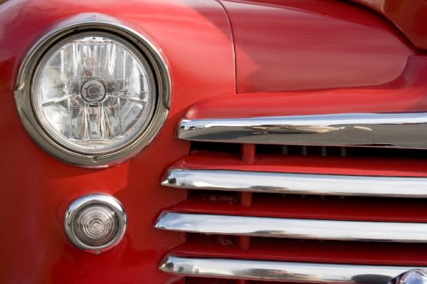Vintage car by Graphic stock