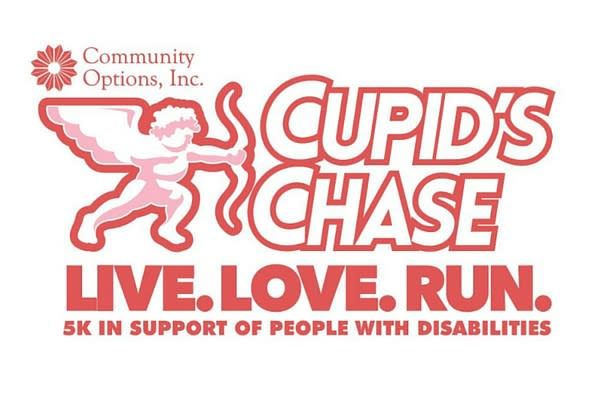 Live, Love, Run at Cupid Run by Community Options, Inc.