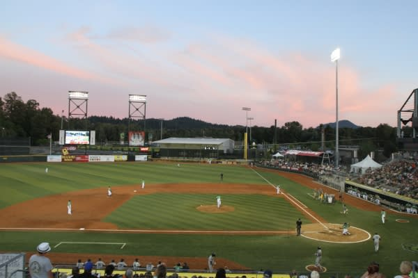 Eugene Emeralds at PK Park