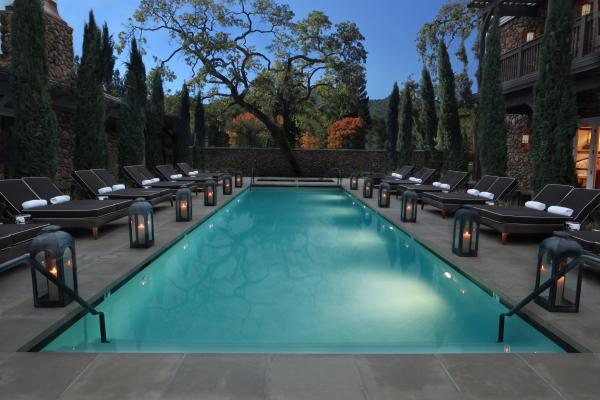 The Best Napa Valley Hotel Pools – Hotel Yountville