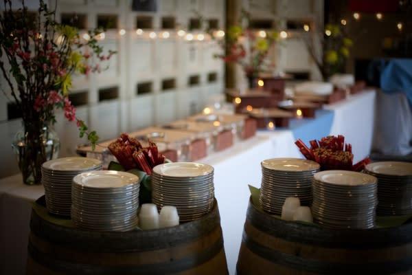 Territorial Vineyards & Wine Company Banquet Set Up Courtesy of Territorial Vineyards & Wine Company