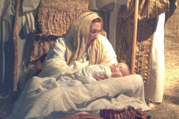 Live Nativity at Mandeville's First Baptist Church