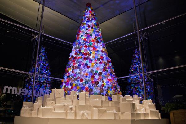 Corning Museum of Glass Christmas Tree