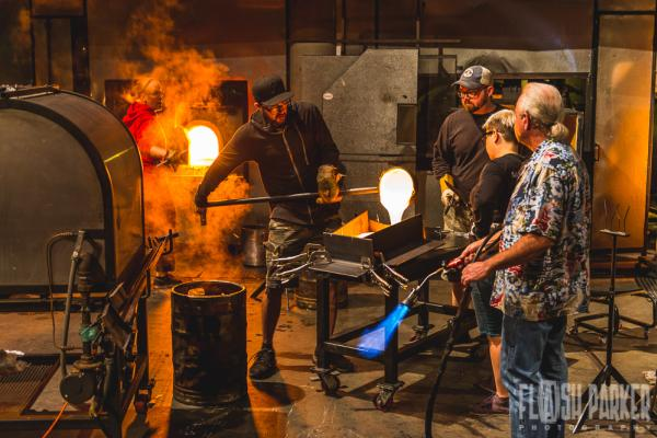 Hot Shop Artist at Museum of Glass