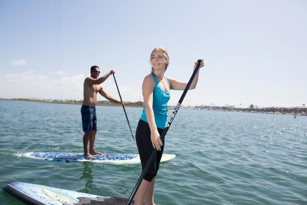Activities in the Huntington Beach Harbour