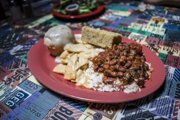 Plate of Food at Souley Vegan
