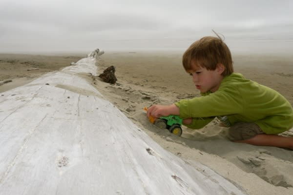 The World's Largest Sandbox by Maggie Frassetto-Cline