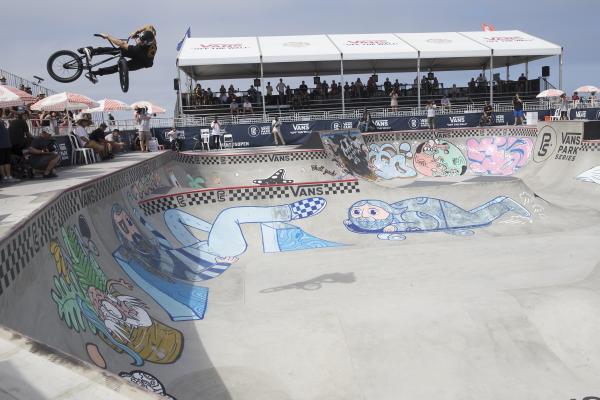 Huntington Beach Vans BMX Event