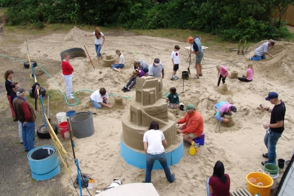 Sand Sculpting at Sand Master Park by Lon Beale