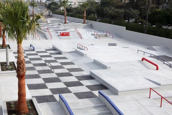 Huntington Beach Vans Skatepark