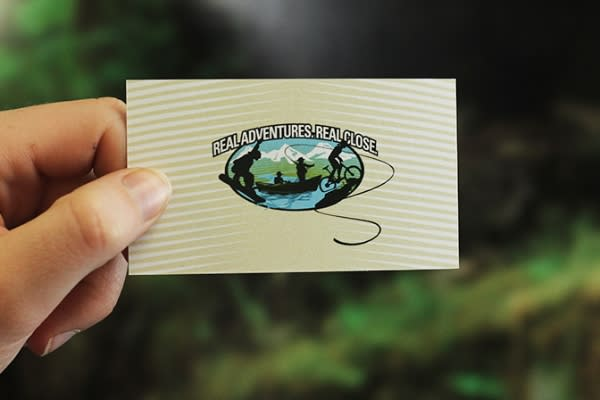 Eugene, Cascades & Coast Business Card