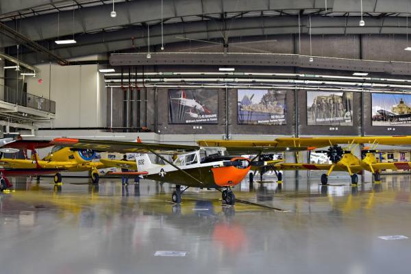 Planes at Flight Museum