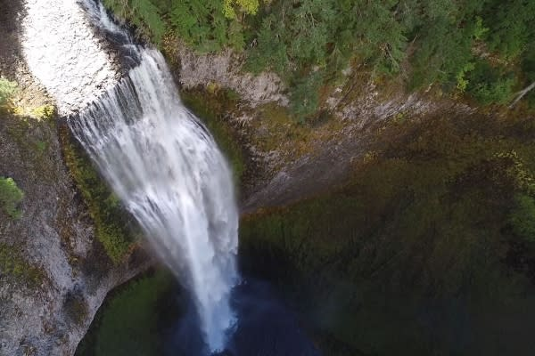 Salt Creek Falls in Oakridge