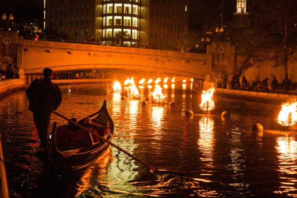 Gondola Ride WaterFire