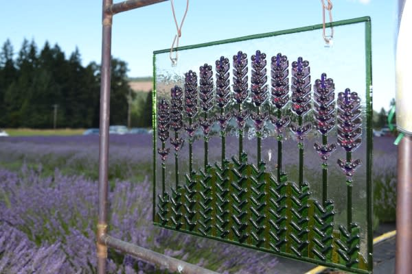 McKenzie River Lavender by Sally McAleer