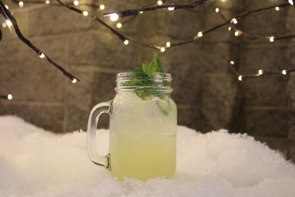 Snow Globe Cocktail at Hyatt Regency Scottsdale