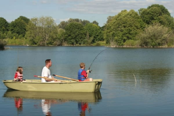 Family Fishing Fun by Erin Ortmann