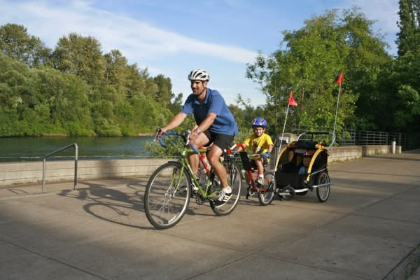 Cycling in Eugene by Michael Kevin Daly
