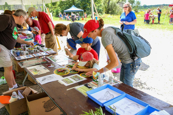 Monarch Festival with Little River Wetlands Project at Eagle Marsh in Fort Wayne, Indiana