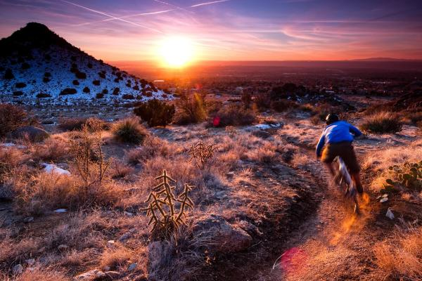 Mountain Biking in the Sandias