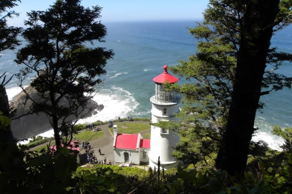 Heceta Head Lighthouse, Florence by Natalie Inouye