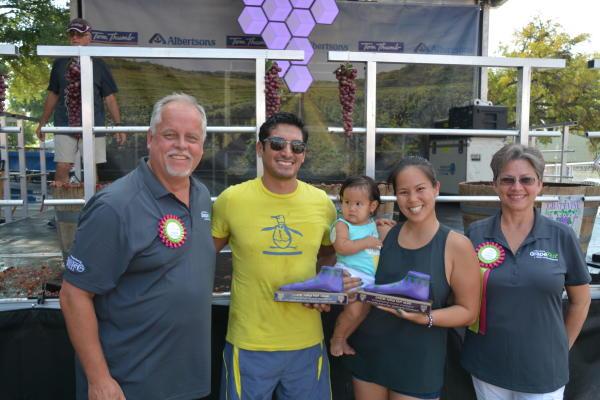 32nd Annual GrapeFest GrapeStomp Winners