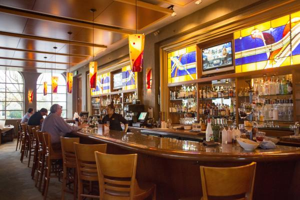 Eddie Merlots Bar Interior - Fort Wayne, Indiana