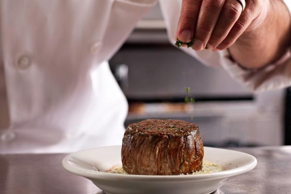 Steak at Ruth's Chris Steak House in Fort Wayne, Indiana
