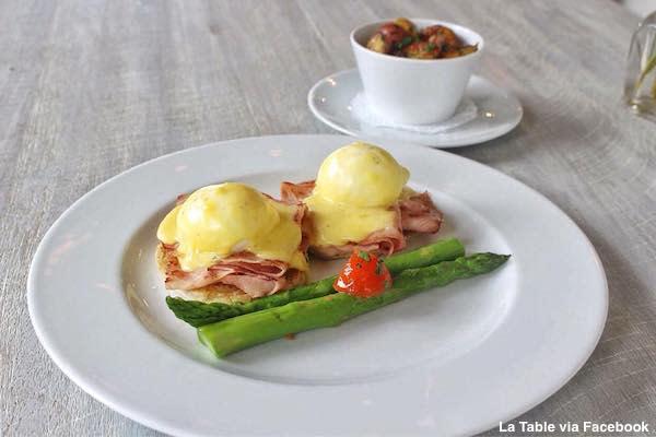 La Table eggs