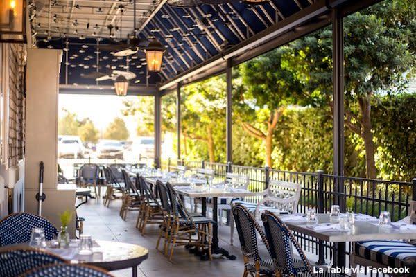La Table patio