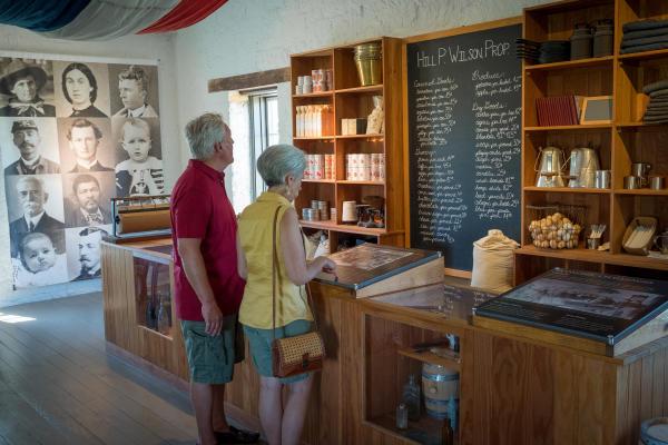 Fort Hays Historic Site in Hays - Kansas