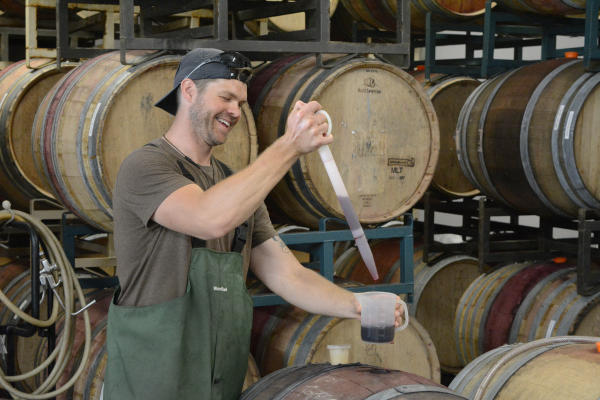 LaVelle Vineyards Barrel Tasting by Colin Morton