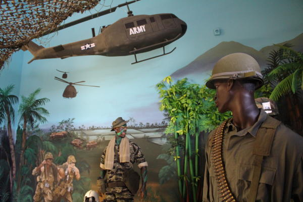 Oregon Coast Military Museum Diorama by Angie Riley