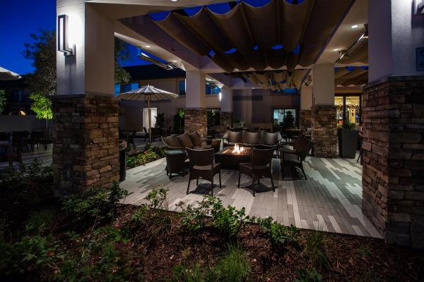 Napa Valley Marriott Fireplace