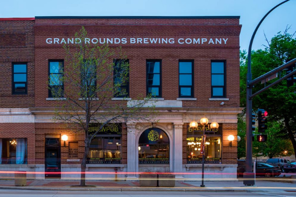 Grand Rounds Brewing Company in Rochester, MN