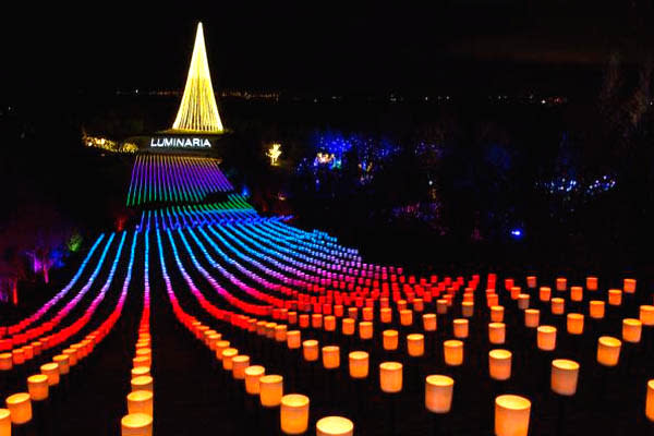 Holiday Lights in Utah Valley - Luminaria