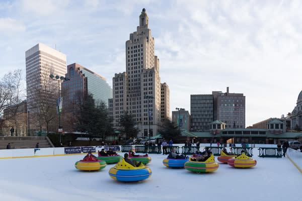 Rhode Island Bumper Cars On-Ice