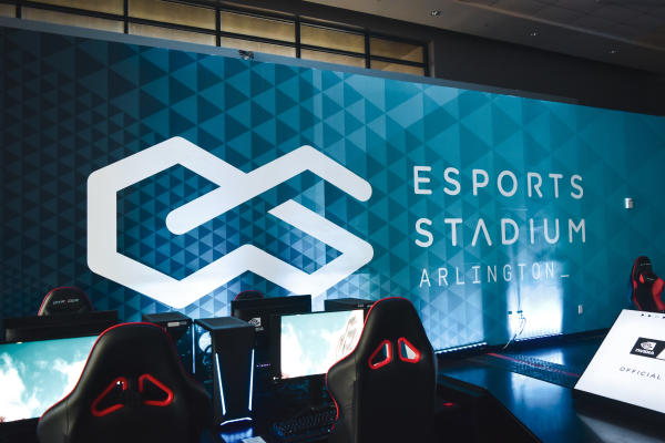 Esports Stadium Arlington interior gaming area