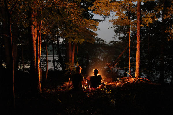 Camping in Deam Wilderness
