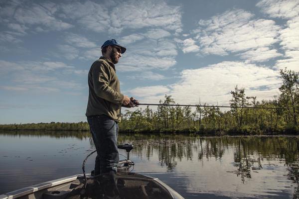 Prime Bass Fishing on Otter Lake
