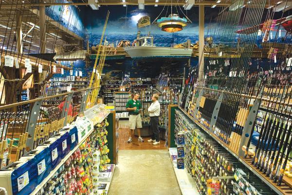 Shopping at Bass Pro Shops in Auburn NY