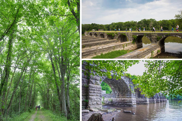 Visit the Richmond Aqueducts in Montezuma