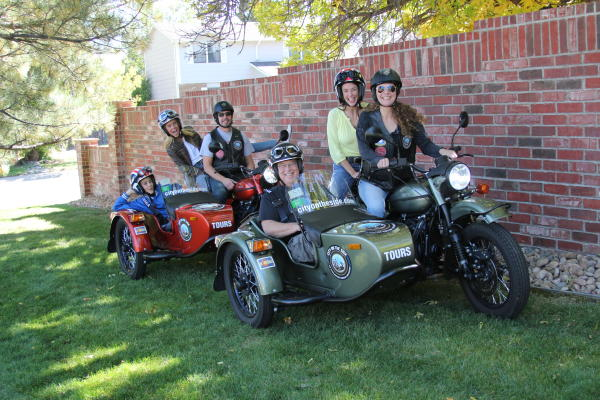 City on the Side: Sidecar Motorcycle Tours in Denver